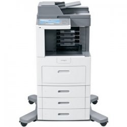 Lexmark - 16M0081 - Lexmark X658DFE Multifunction Printer - Monochrome - 55 ppm Mono - 1200 x 1200 dpi - Fax, Copier, Scanner, Printer