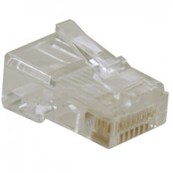 Tripp Lite - N030-010 - Tripp Lite RJ45 for Solid / Standard Conductor 4-Pair Cat5e Cat5 Cable 10 Pack - RJ-45
