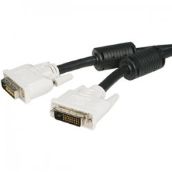StarTech - DVIDDMM25 - StarTech.com 25 ft DVI-D Dual Link Cable - M/M - DVI-D (Dual-Link) Male Digital Video - DVI-D (Dual-Link) Male Digital Video - 25ft - Black