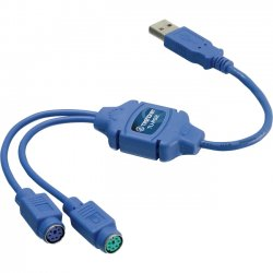 TRENDnet - TU-PS2 - TRENDnet USB to PS/2 Converter - Type A Male USB - 1.37""