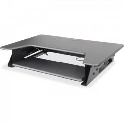 Kantek - STS900 - Kantek Desktop Riser Workstation Sit To Stand Black - 5.3 Height x 35 Width x 24 Depth - Desktop - Black
