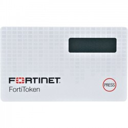 Fortinet - FTK-220-20 - Fortinet FortiToken 220 Security Card - OATH, TOTP, SHA-1 Encryption