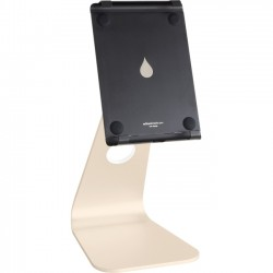 Rain Design - 10057 - Rain Design mStand Tablet Pro 9.7- Gold - Up to 9.7 Screen Support - 11.4 Height x 5.7 Width x 3.2 Depth - Aluminum - Gold