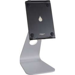 Rain Design - 10058 - Rain Design mStand Tablet Pro 9.7- Space Grey - Up to 9.7 Screen Support - 11.4 Height x 5.7 Width x 7.1 Depth - Aluminum - Space Gray