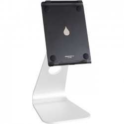 Rain Design - 10062 - Rain Design mStand Tablet Pro 12.9- Silver - Up to 12.9 Screen Support - 11.4 Height x 5.7 Width x 7.1 Depth - Aluminum - Silver