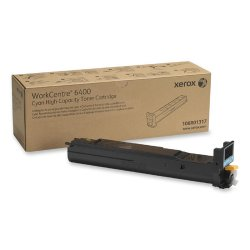 Xerox - 106R01317 - Xerox High Capacity Cyan Toner Cartridge - Laser - High Yield - 16500 Page - 1 / Each