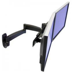 Ergotron - 45-231-200 - Ergotron 200 Dual Monitor Arm - 13 lb - Black