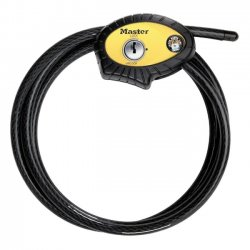 Master Lock - 8413 XDPF - Master Lock Python Adjustable Cable Lock - 6 ft