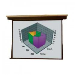 Draper - 101059 - Draper Premier Electrically Operated Projection Screen - 45 x 80 - M1300 - 92 Diagonal
