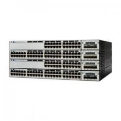 Cisco - WS-C3750X-24T-S - Cisco Catalyst 3750X-24T-S Layer 3 Switch - 24 x Gigabit Ethernet Network - Manageable - 3 Layer Supported - 1U High - Rack-mountable - Lifetime Limited Warranty