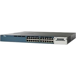 Cisco - WS-C3560X-24P-S - Cisco Catalyst WS-C3560X-24P-S Ethernet Switch - 24 Port - 2 Slot - 24 x 10/100/1000Base-T - Yes - 2 x Network Module Slot