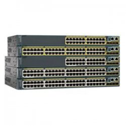 Cisco - WS-C3560X-48P-S - Cisco Catalyst WS-C3560X-48P-S Ethernet Switch - 48 x Gigabit Ethernet Network - Manageable - 2 Layer Supported - 1U High - Lifetime Limited Warranty