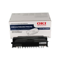 Okidata - 56123402 - Oki Original Toner Cartridge - LED - 5500 Pages - Black - 1 Each