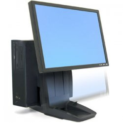 "Ergotron - 33-326-085 - Ergotron Neo-Flex All-In-One Lift Stand - Up to 16lb - Up to 24"" LCD Monitor - Black"