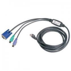Avocent - AVRIQ-SRL - Avocent Serial Server Interface Cable Adapter - HD-15 Female, RJ-45 Female, Serial