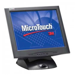 3M - 11-91378-225 - 3M MicroTouch M1700SS Touchscreen LCD Monitor - 17 - Capacitive - 1280 x 1024 - 0.264mm - Black