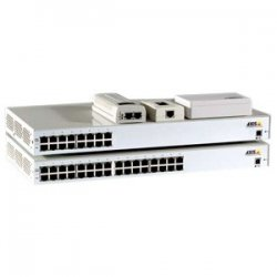 Axis Communication - 5012-004 - Axis 8-Port Power over Ethernet Midspan - -48 V DC Output - 8 10/100Base-TX Output Port(s)