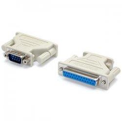 StarTech - AT925MF - StarTech.com DB9 to DB25 Serial Adapter - M/F - 1 x DB-9 Male - 1 x DB-25 Female