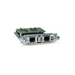 Cisco - VWIC2-2MFT-G703= - Cisco-IMSourcing NEW F/S 2-Port G.703 Multiflex Trunk Voice/WAN Interface Card - For Voice, Wide Area Network - 2 x T1/E1 - 197.63 kB/s T1, 262.14 kB/s E12.05 Mbit/s