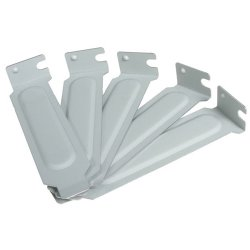 "StarTech - PLATEBLANKLP - StarTech.com Steel Low Profile Expansion Slot Cover Plate - 5 Pack - 5 Pack - 1"" Height - 3.1"" Width"