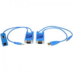 StarTech - ST121UTPMINI - StarTech.com Mini VGA Video and Audio Extender over Cat5 - 1 x 1 - WUXGA - 90m