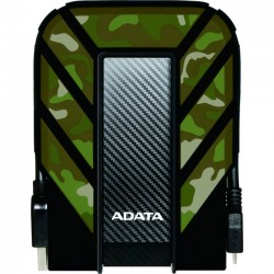 A-DATA Technology - AHD710M-2TU3-CCF - Adata HD710M 2 TB 2.5 External Hard Drive - Portable - USB 3.0 - Military Camo