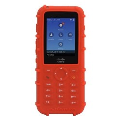 ZCover - CI821PBD - zCover Dock-in-Case CI821 IP Phone Case - IP Phone - Red - Solid - Silicone