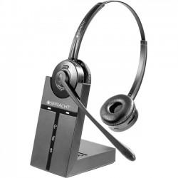 Spracht - HS-2019 - Spracht ZUM Maestro DECT Headset - Stereo - Wireless - DECT 6.0 - 350 ft - 32 Ohm - 300 Hz - 3.40 kHz - Over-the-head - Binaural - 58 dB SNR - Supra-aural - Noise Canceling
