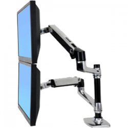 "Ergotron - 45 248 026 - Ergotron 45-248-026 Mounting Arm for Flat Panel Display - 24"" Screen Support - 40 lb Load Capacity - Aluminum"