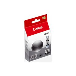 Canon - 2945B004 - Canon PGI-220 Black Ink Cartridge - Inkjet - Black - 3 Pack