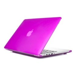 iPearl - MCOVERA1707PUP - iPearl mCover MacBook Pro (Retina Display) Case - MacBook Pro (Retina Display) - Purple - Polycarbonate