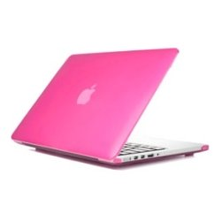 iPearl - MCOVERA1706PNK - iPearl mCover MacBook Pro (Retina Display) Case - MacBook Pro (Retina Display) - Pink - Polycarbonate