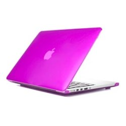 iPearl - MCOVERA1706LPUP - iPearl mCover MacBook Pro (Retina Display) Case - MacBook Pro (Retina Display) - Purple - Polycarbonate