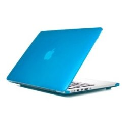 iPearl - MCOVERA1706LAQU - iPearl mCover MacBook Pro (Retina Display) Case - MacBook Pro (Retina Display) - Aqua - Polycarbonate