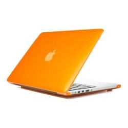 iPearl - MCOVERA1706LORG - iPearl mCover MacBook Pro (Retina Display) Case - MacBook Pro (Retina Display) - Orange - Polycarbonate