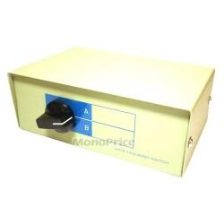 Monoprice - 1344 - Monoprice 2 Way DB9 Data Switch Box, AB=Male