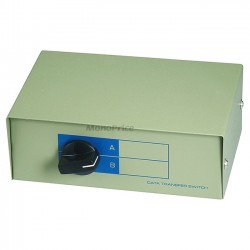 Monoprice - 1347 - Monoprice DB15, AB 2 Way Switch Box