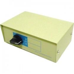 Monoprice - 1352 - Monoprice DB25, AB 2 Way Switch Box - DB-25