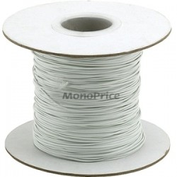 Monoprice - 1411 - Monoprice Wire Cable Tie 290M/Reel - White - Cable Tie - White