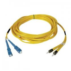 Tripp Lite - N354-09M - Tripp Lite 9M Duplex Singlemode 8.3/125 Fiber Optic Patch Cable SC/ST 30' 30ft 9 Meter - ST Male - SC Male - 29.53ft - Yellow