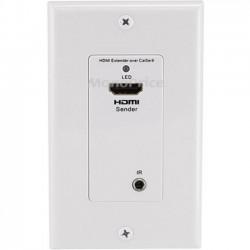 Monoprice - 8008 - Monoprice Faceplate - White - 1 x HDMI Port(s)