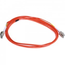 Monoprice - 10326 - Monoprice Fiber Optic Duplex Network Cable - Fiber Optic for Network Device - 82.02 ft - 2 x LC Male Network - 2 x LC Male Network - 50/125 m - Orange
