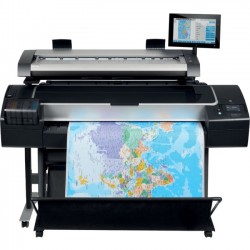 Hewlett Packard (HP) - 1BA32A#B1K - Designjet Hd Pro Mfp Printer Clr Inkjet P/s/c Gbe 2400x1200 64gb