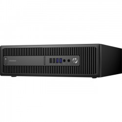 Hewlett Packard (HP) - 1KD51UP#ABA - HP EliteDesk 800 G2 Desktop Computer - Intel Core i5 (6th Gen) i5-6500 3.20 GHz - 8 GB DDR4 SDRAM - 256 GB SSD - Small Form Factor - 10 x Total USB Port(s)