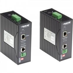 Black Box Network - LBPS310A-KIT - Black Box Hardened Power-over-Line (PoL) PoE Ethernet Extender Kit - 2 x Network (RJ-45) - 984 ft Extended Range