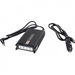 Gamber-Johnson - 16410 - Gamber-Johnson Lind Automobile Power Adapter for Zebra ET50/55 - 12 V DC Output Voltage - 3.50 A Output Current