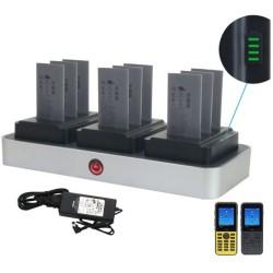 ZCover - CI821U3BNA - zCover zDock CI821U Cradle - Docking - IP Phone, Battery - Charging Capability - Black, Gray