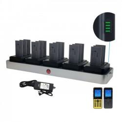ZCover - CI821U5BNA - zCover zDock CI821U Cradle - Docking - IP Phone, Battery - Charging Capability - Black, Gray