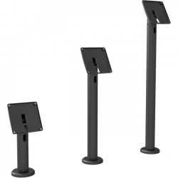 Compulocks Brands - TCDP04235SMENB - The Rise iPad Kiosk - iPad Stand with Cable Management