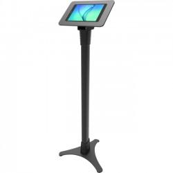 "Compulocks Brands - 147B910AROKB - MacLocks Rokku Galaxy Adjustable Floor Stand - Premium Galaxy Enclosure Kiosk - Up to 10.1"" Screen Support - Floor - Aluminum - Black"